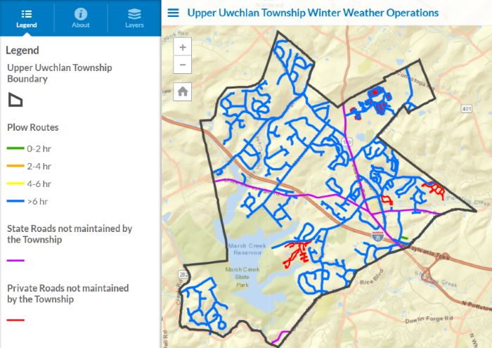 Click here to access Snow Removal Map